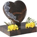 Aurora Granite Heart Memorial