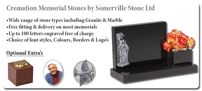 Cremation Memorial Stones Somerville Stone Somerville Stone