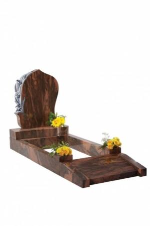 English Teak Granite Kerb Set Memorial