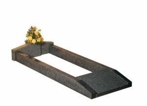Lunar Grey Granite Kerb Set Memorials