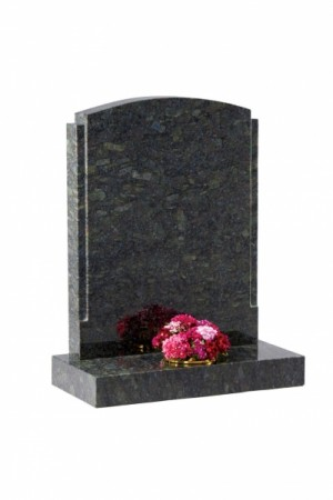 Butterfly Granite Headstone