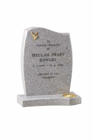 Warick Grey Granite Headstone
