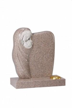 Carnation Granite Children's Memorial Headstone