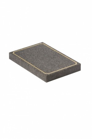 EC246 Dark Grey Granite Cremation Memorial Stone