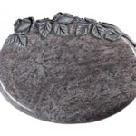 Bahama Blue Granite Cremation Memorial Stone