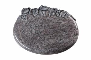 Bahama Blue Granite Cremation Memorial Stone
