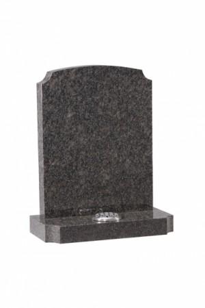 Steel Grey Memorial Headstone