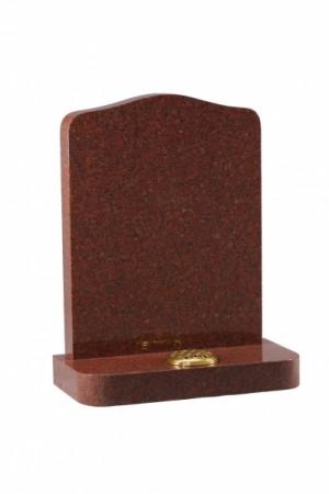 Ruby Red Granite Memorial Headstone