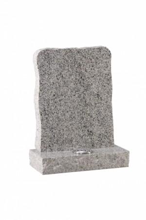 Celtic Grey Granite Rustic Memorial Headstone