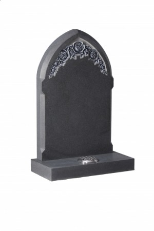 Flint Grey Granite Memorial Headstone