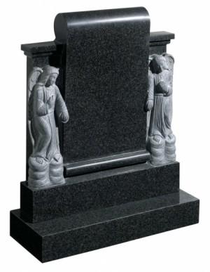 Rustenburg Dark Grey Memorial Headstone