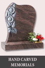 Hand Carved Memorials