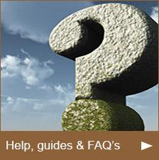 Help Guides & FAQ's