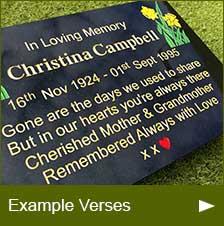 Example Verses
