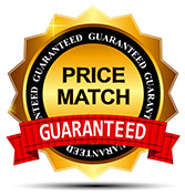 Price Match Gauranteed