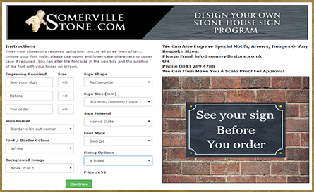 Click here to use the sign builder program