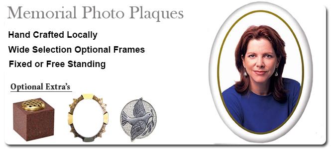 Memorial Photo Plaques